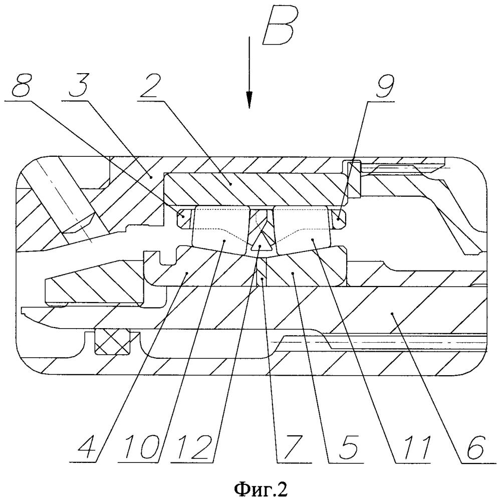 Радиальная межвальная опора ротора турбомашины