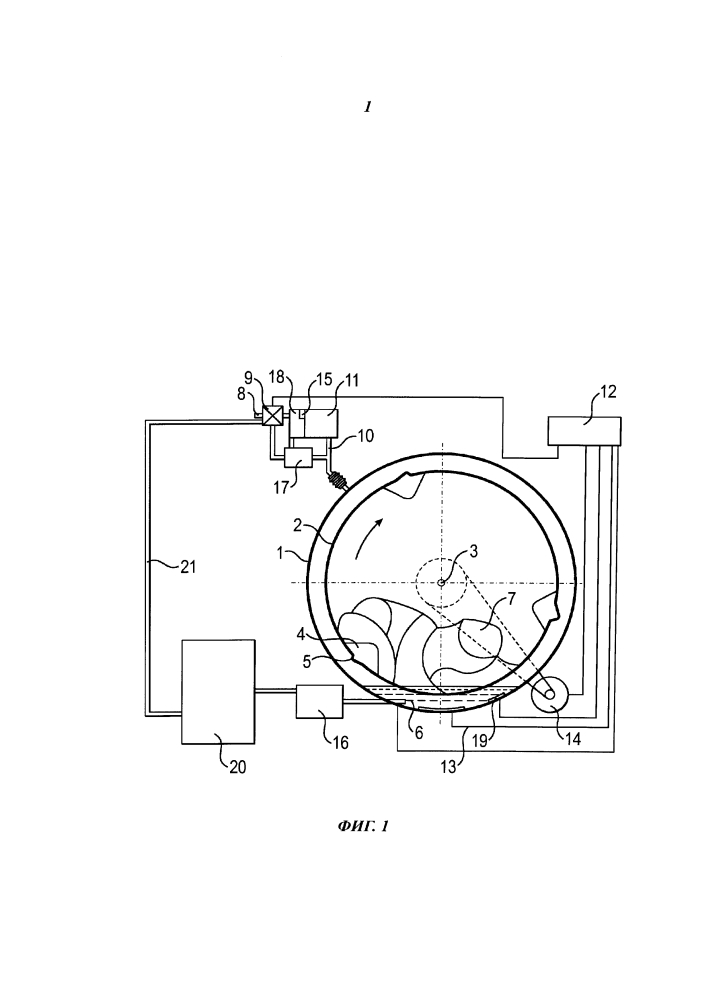 Способ полоскания белья с кондиционирующим средством в стиральной машине и стиральная машина для осуществления способа