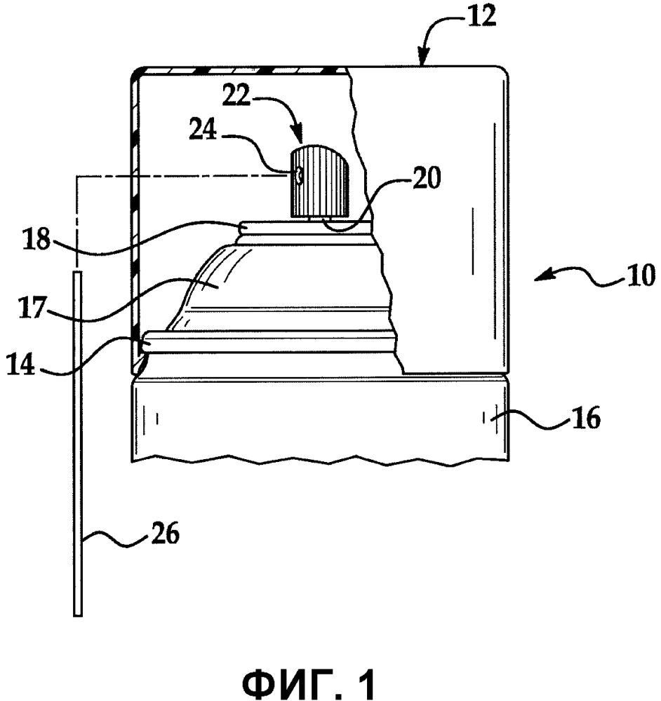 Электромагнитные спектрально обнаруживаемые пластиковые упаковочные компоненты
