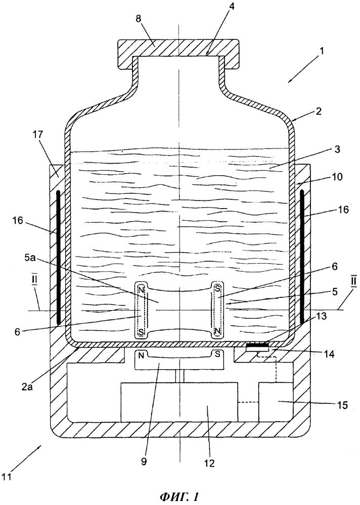 Упаковка стереолитографической смолы, перемешивающее устройство, пригодное для использования с указанной упаковкой, стереолитографическая система и способ перемешивания стереолитографической смолы, содержащейся в указанной упаковке