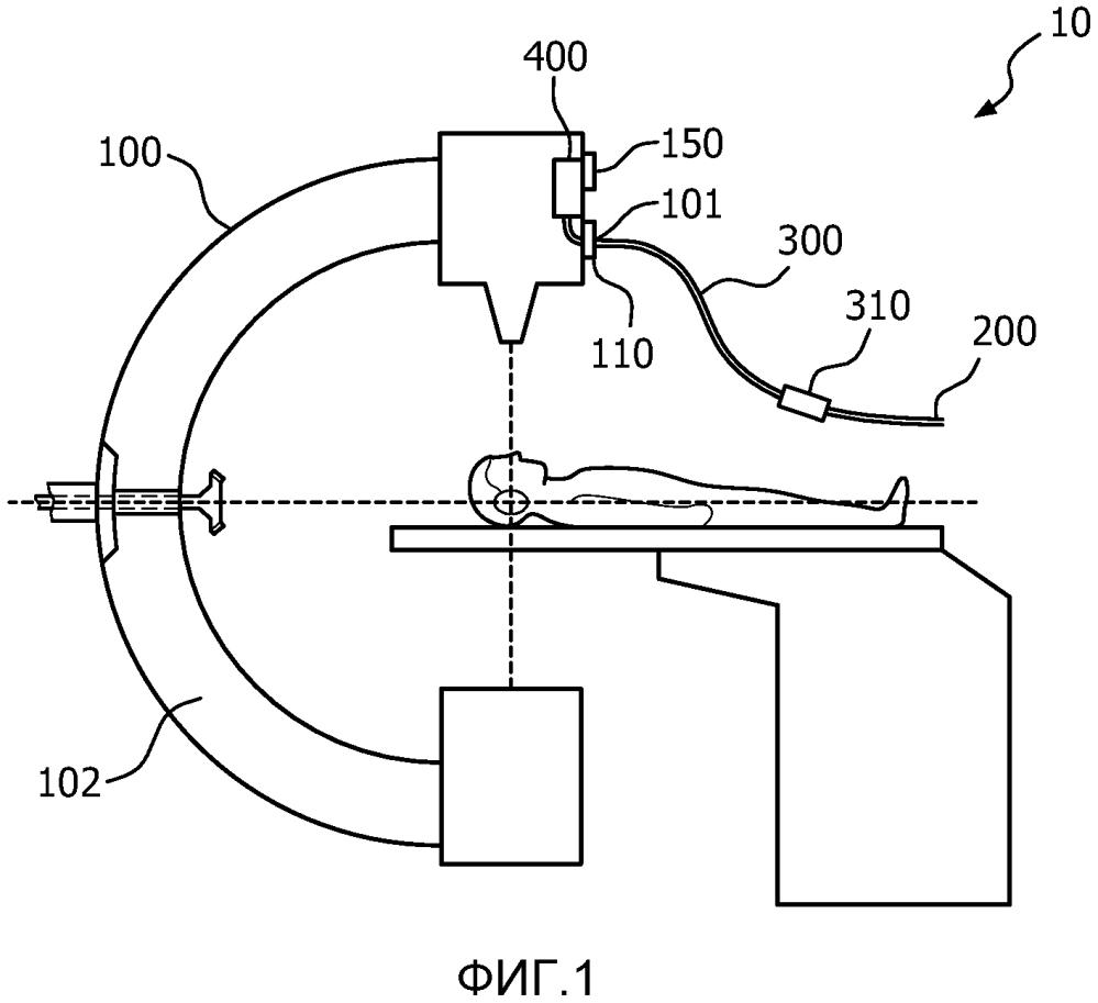 Гибкий кабель со встроенными датчиками для динамического отслеживания инструмента