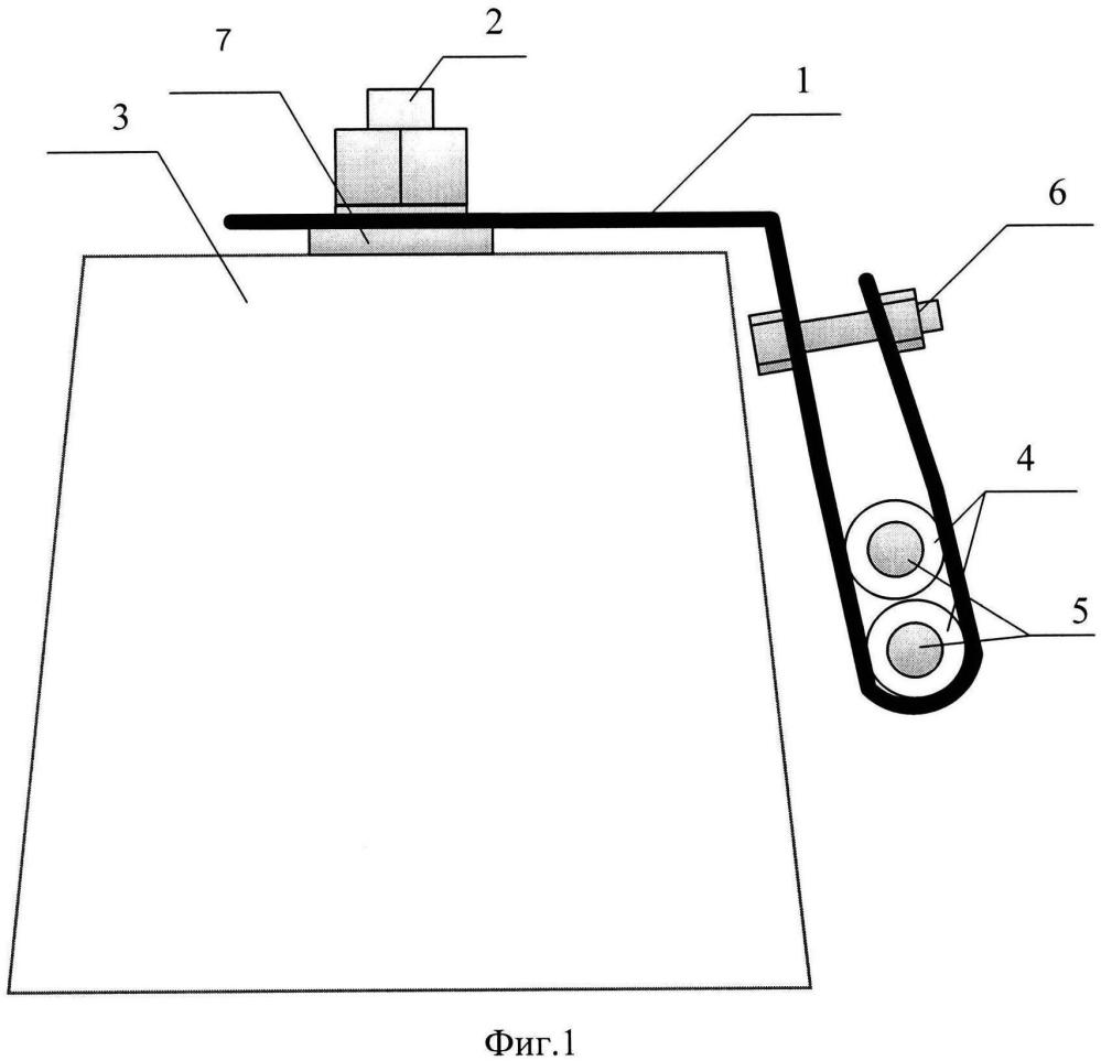 Устройство для крепления дроссельной перемычки на железобетонных шпалах