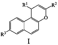Способ получения 3-арил-1н-бензо[f]хроменов