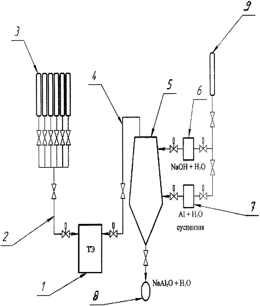 Электрохимический генератор на основе водородно-кислородных топливных элементов