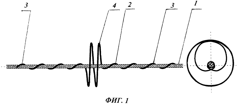 Способ гашения колебаний проводов воздушных линий электропередачи, волоконно-оптических кабелей линий связи и устройство для его осуществления