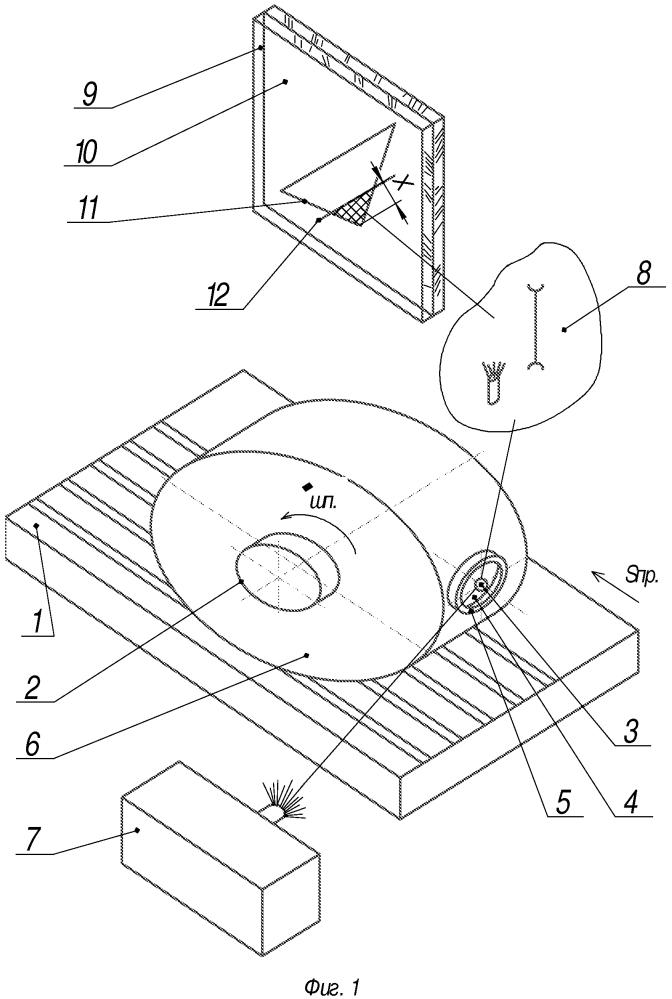 Экспресс-способ выбора параметров шлифования обрабатываемого материала микрорезанием единичным зерном в металлической связке
