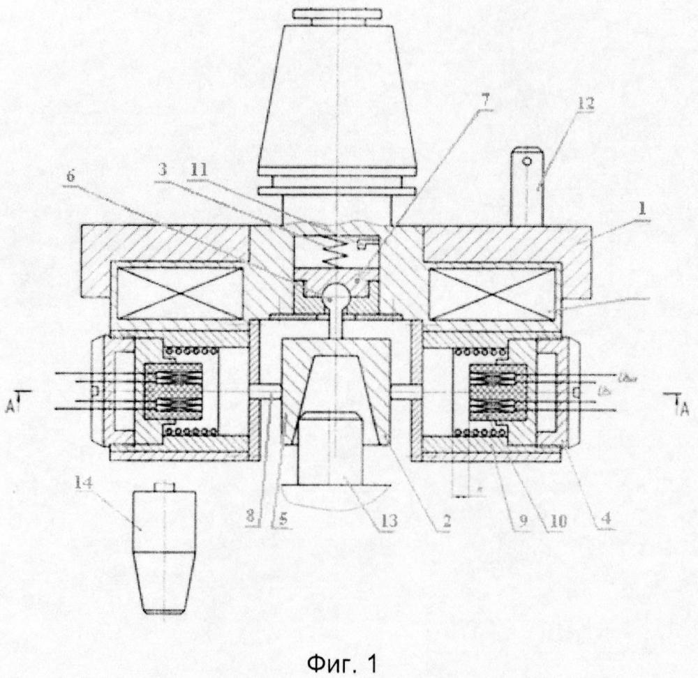 Датчик для определения положения детали относительно системы координат станка