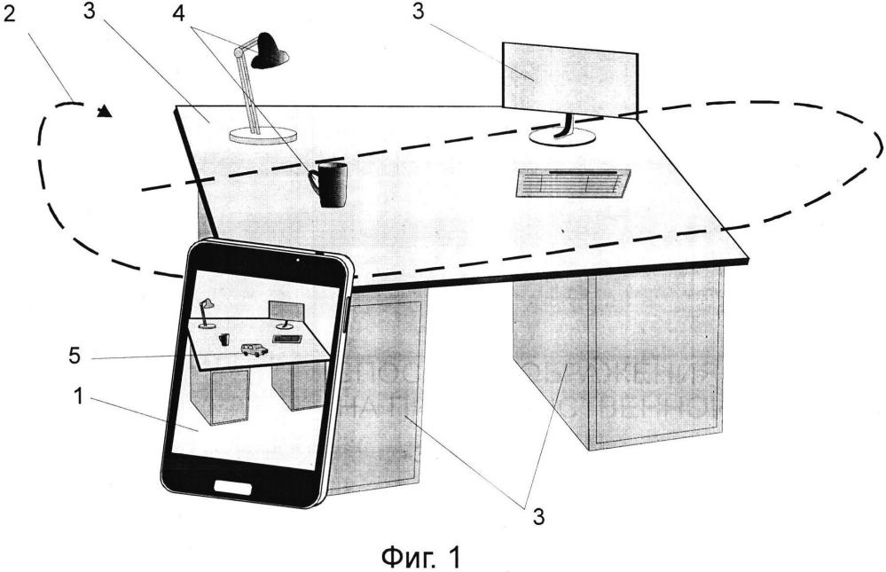 Способ отображения объекта на пространственной модели