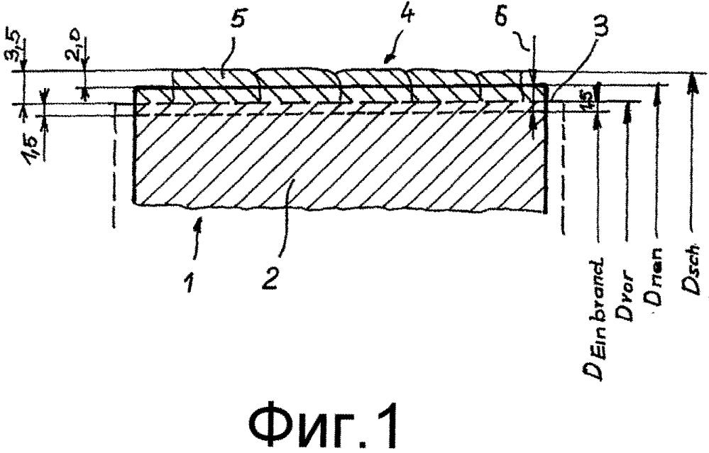 Способ получения ролика с наплавленным посредством сварки материалом и способ восстановления изношенного ролика посредством наплавки сваркой