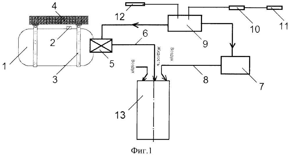 Способ модульного пожаротушения кочетова
