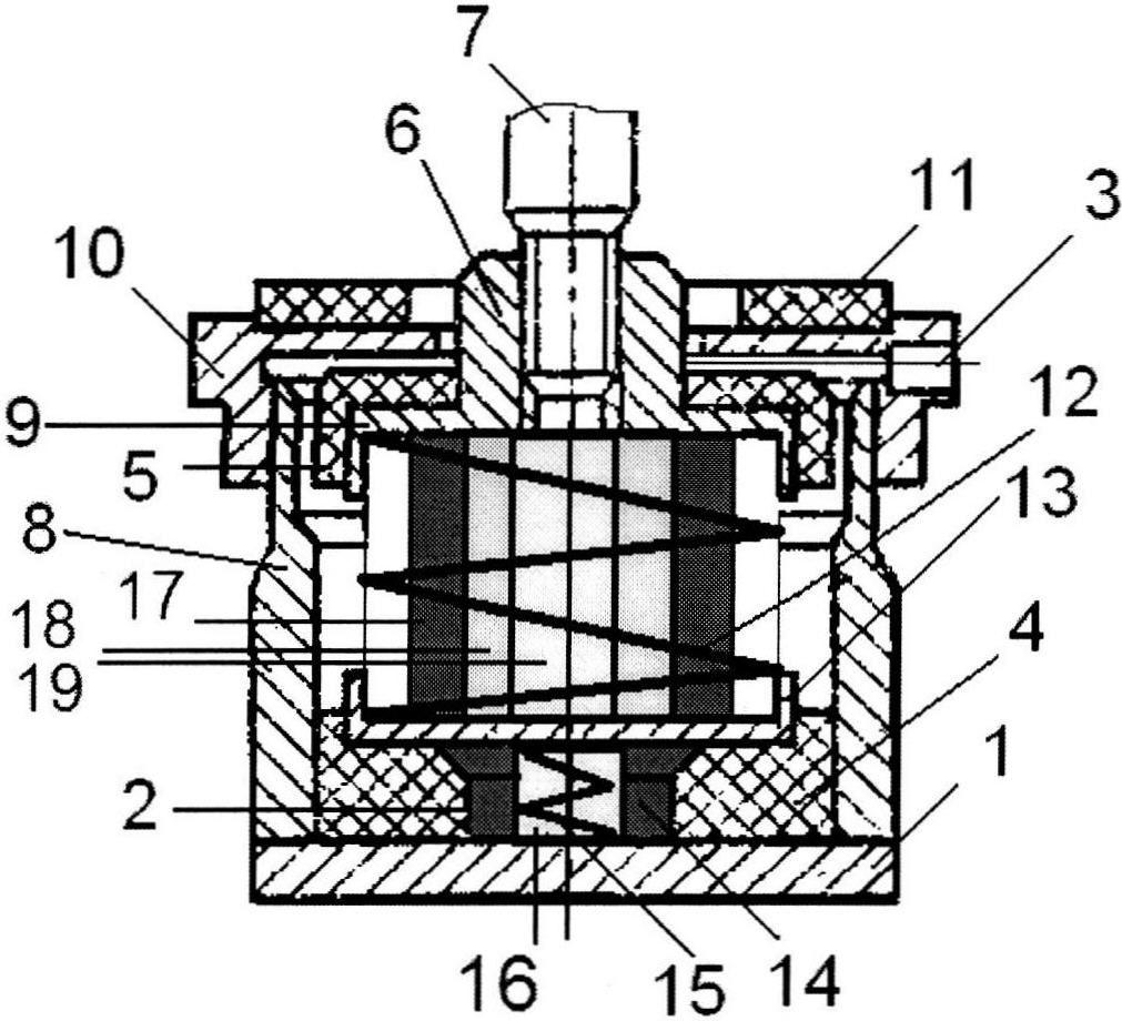 Пружинный виброизолятор кочетова