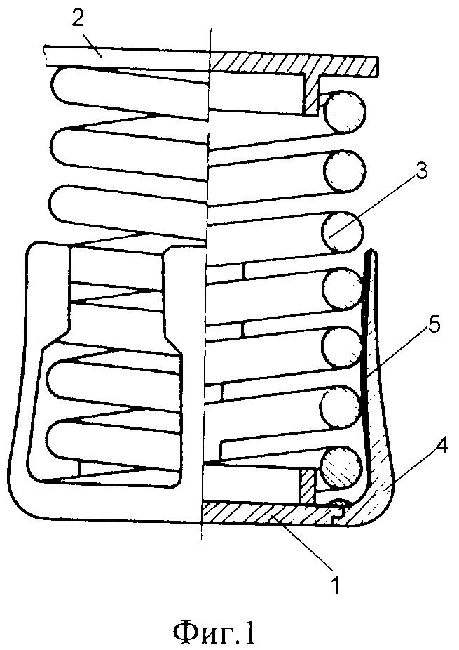 Виброизолятор кочетова с сухим трением