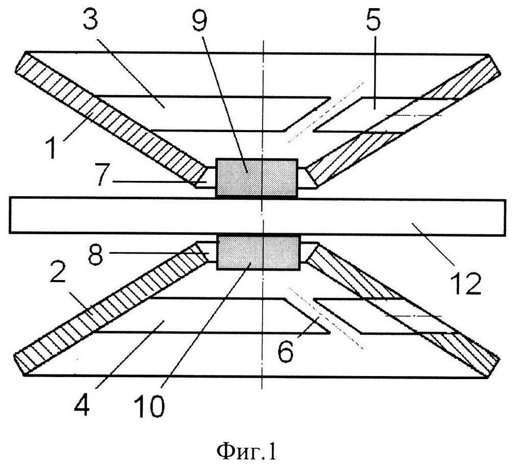 Сдвоенный тарельчатый виброизолятор кочетова