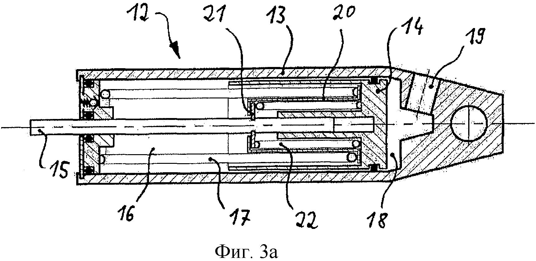 Управляющий цилиндр для моторного тормоза-замедлителя со средствами для выработки упругого восстановления