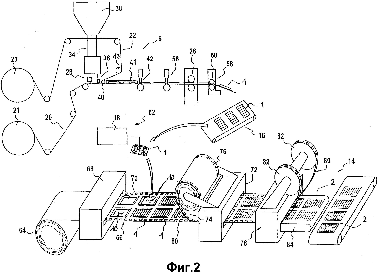 Способ и установка для изготовления охлаждающих компрессов и получаемые компрессы в стерильной упаковке