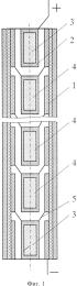 Многоэлементный электрогенерирующий канал термоэмиссионного реактора-преобразователя