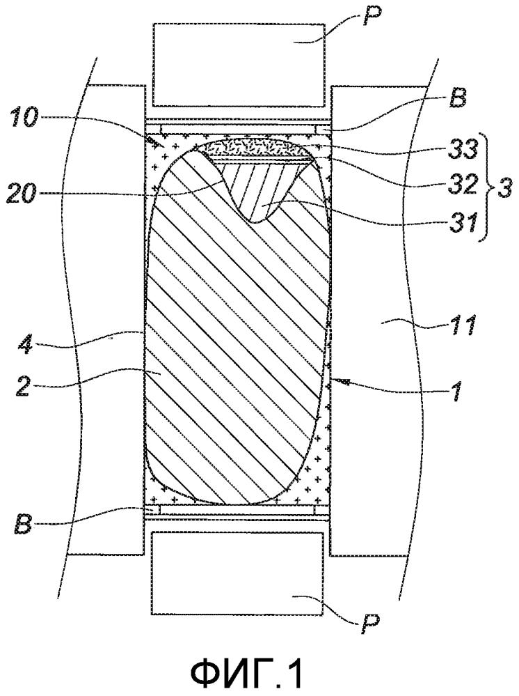 Способ локальной наплавки поврежденной термомеханической детали и деталь, выполняемая таким образом, в частности деталь турбины