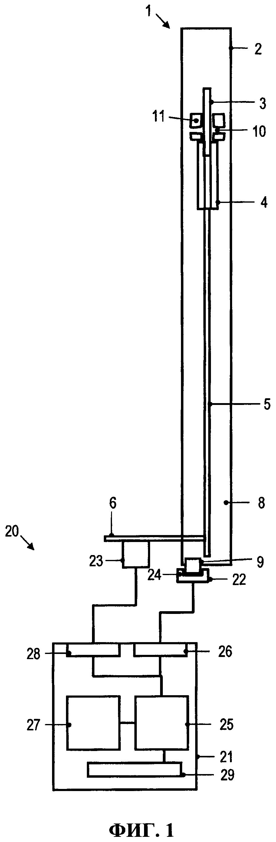 Способ и устройство диагностирования автоматического выключателя с дутьевой системой дугогашения
