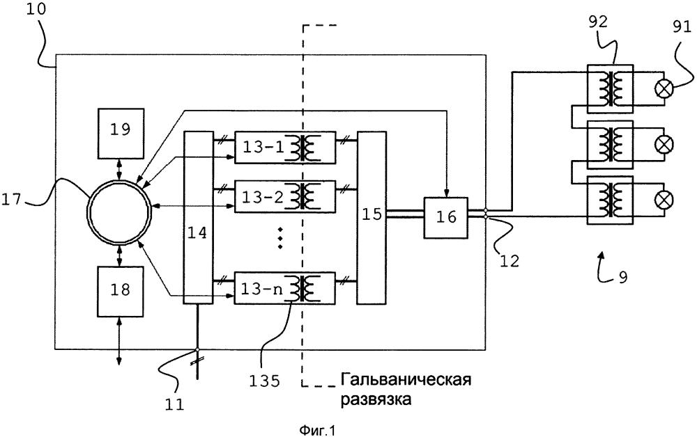 Модульный регулятор постоянного тока