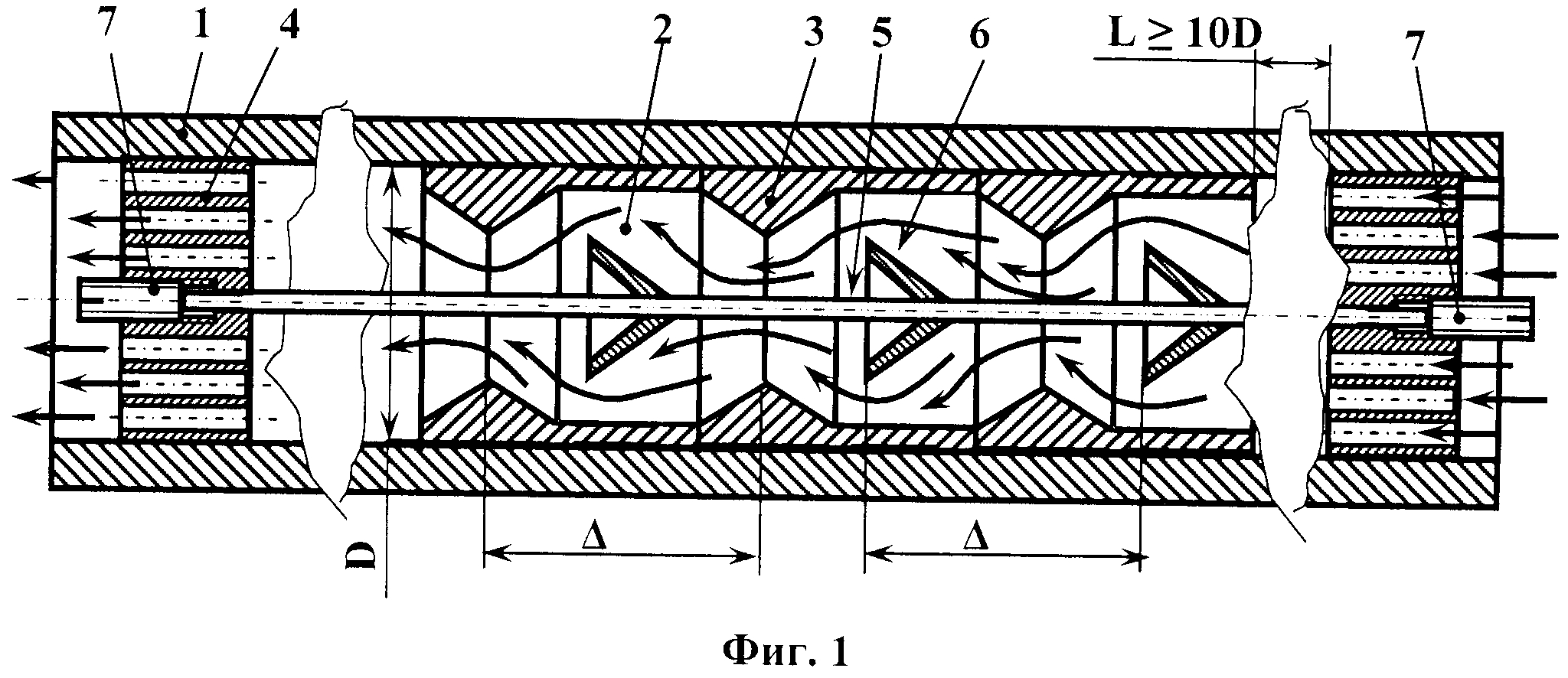 Гидравлический и пневматический прямоточный диод