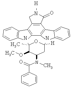 Кристаллические формы iii и iv n-бензоилстауроспорина