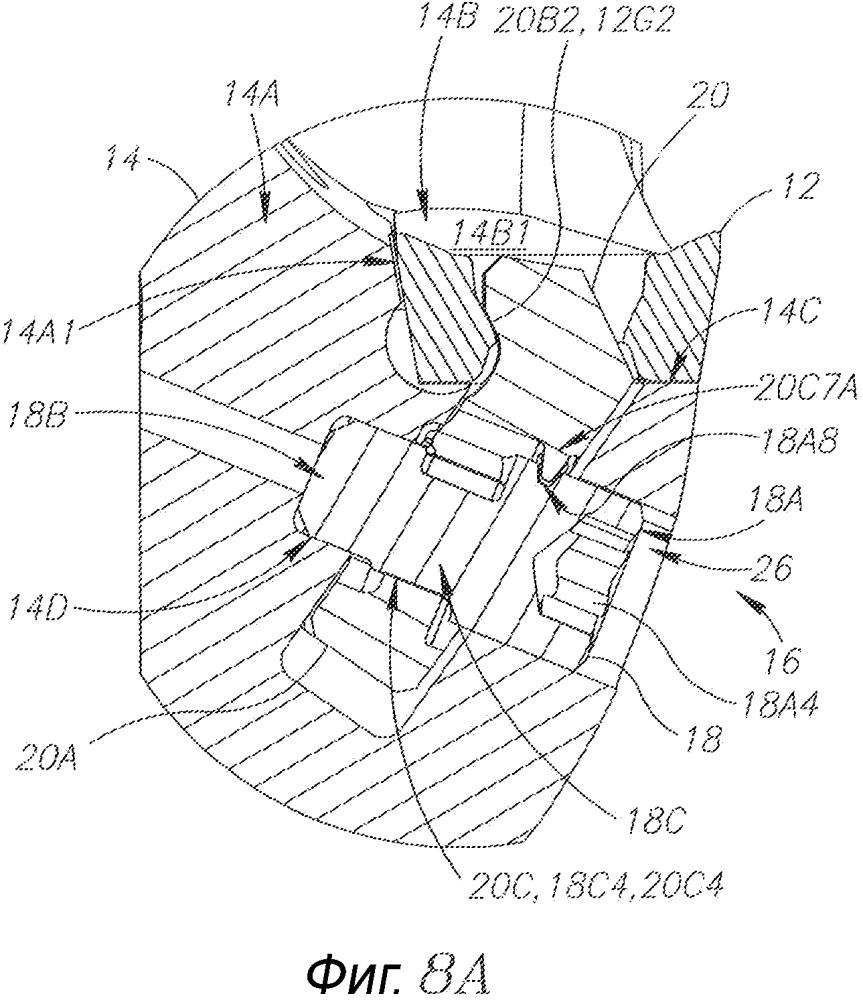 Режущий инструмент и зажимной механизм для закрепления режущей пластины в нем