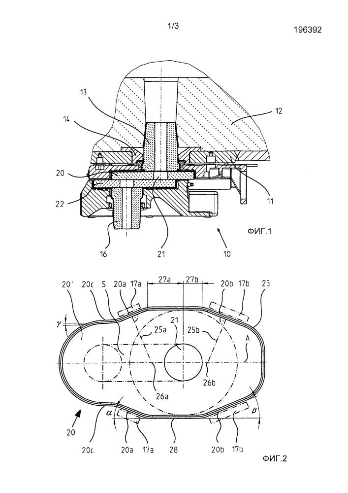 Закрывающая плита, а также шиберный затвор на сливном отверстии содержащего металлический расплав сосуда