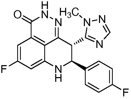 Кристаллическая тозилатная соль (8s,9r)-5-фтор-8-(4-фторфенил)-9-(1-метил-1н-1,2,4-триазол-5-ил)-8-9-дигидро-2н-пиридо[4,3,2-de]фталазин-3(7н)-она