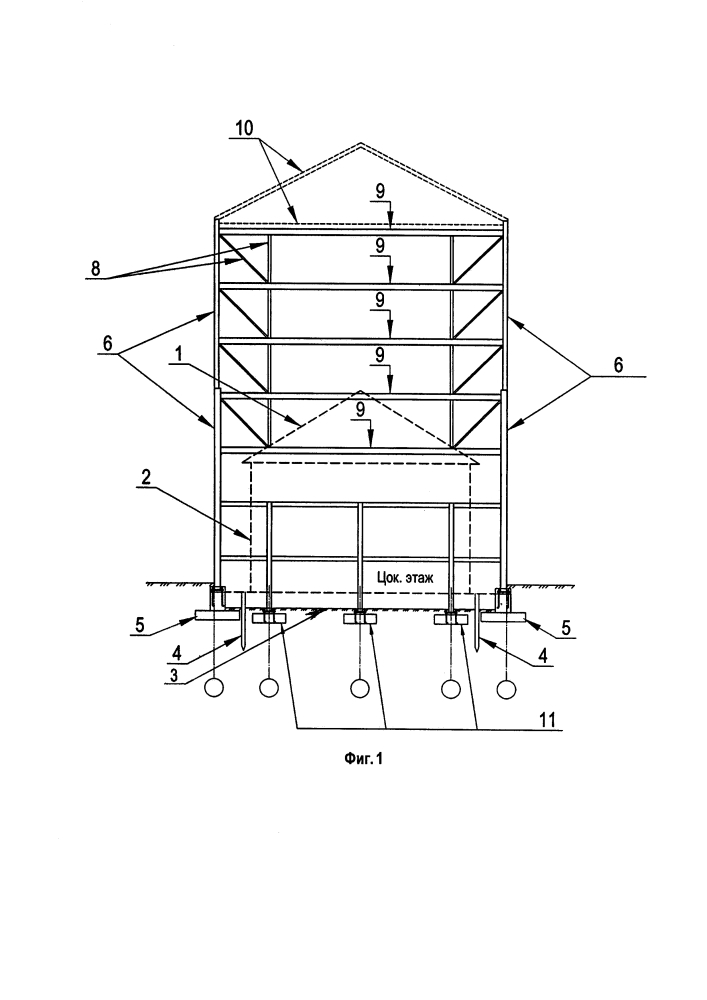 Способ реконструкции и надстройки зданий