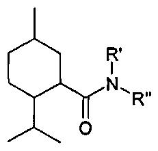 Изопропиловый эфир [(1r,2s,5r)-2-изопропил-5-метилциклогексанкарбонил)-амино]-уксусной кислоты, родственные соединения и их применение в терапии