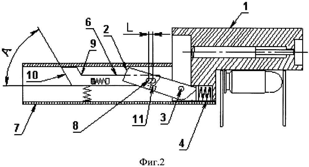 Ударно-спусковой механизм автоматического оружия
