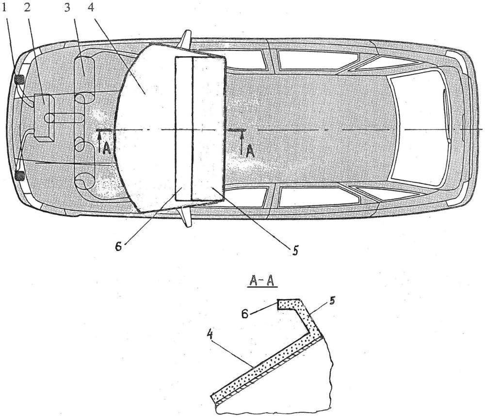 Система безопасности легкового автомобиля