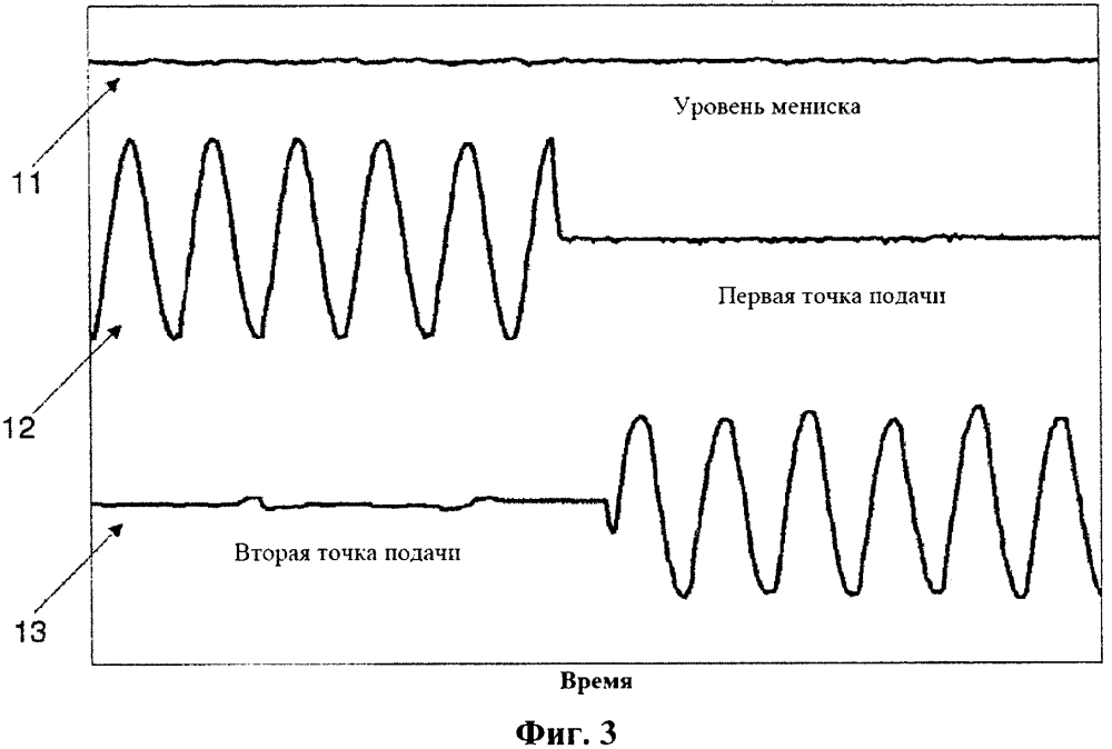 Способ определения наличия положения закрывания жидкой сердцевины металлического изделия, получаемого путем непрерывной разливки
