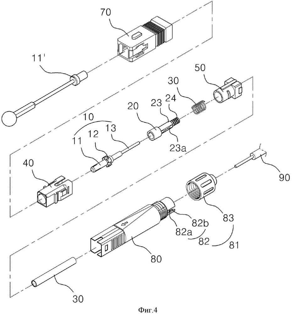 Оптоволоконный соединитель и способ его сборки