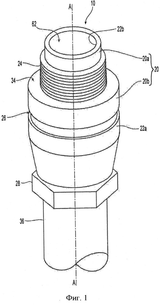 Спринклер сухого типа с различными схемами соединения