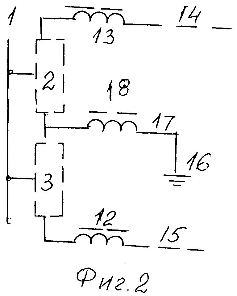 Подстанция биполярной электропередачи постоянного тока
