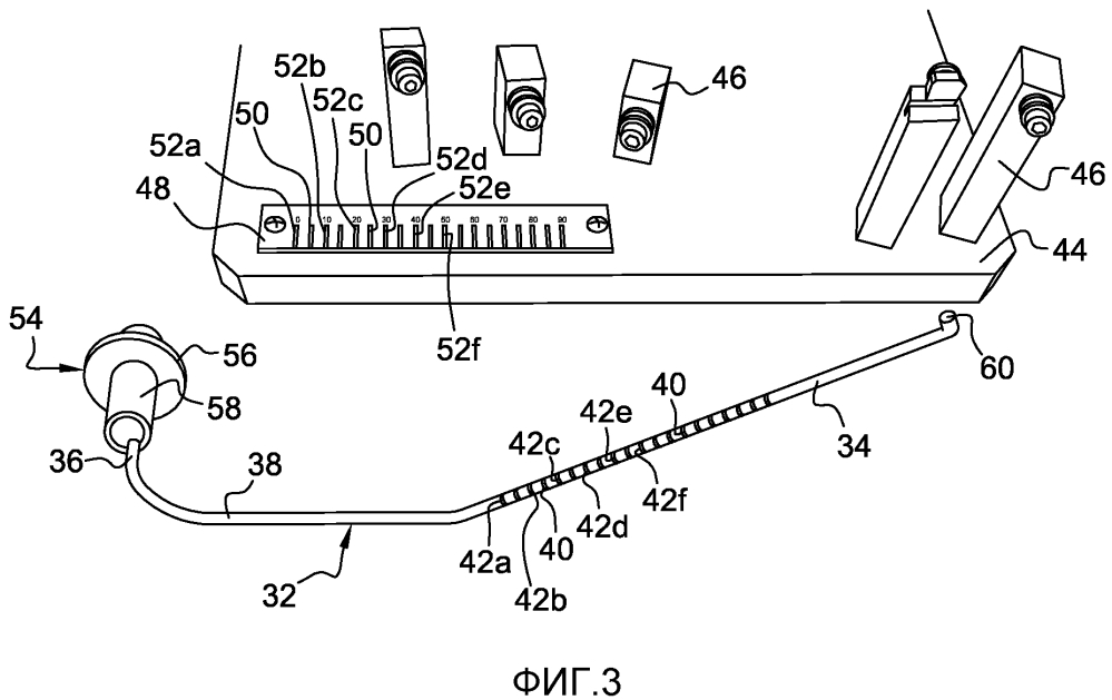 Способ и устройство измерения детали в турбомашине