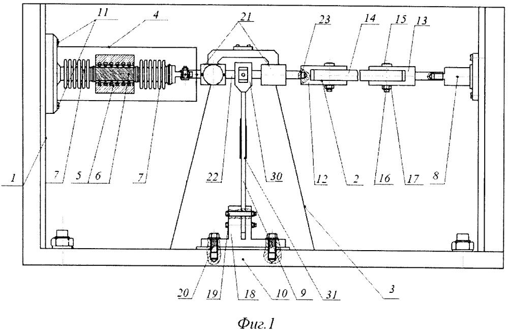 Устройство для определения механических свойств полимерных материалов