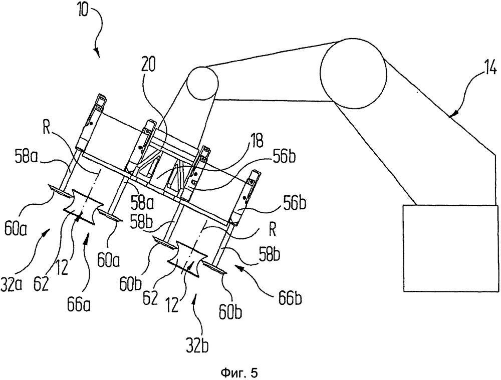 Манипуляционный модуль для манипуляции с автомобильными колесами