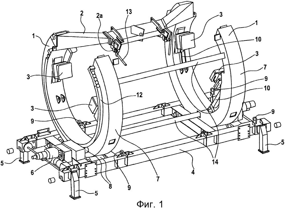 Устройство для манипулирования лопастью ротора ветровой энергетической установки