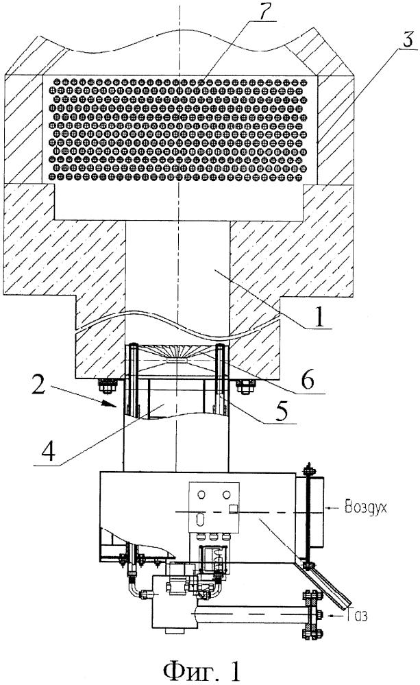 Трубчатая печь с теплообменником