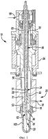 Выдувное сопло, регулирующее подачу жидкости и содержащее стержневую сборку для предварительной вытяжки