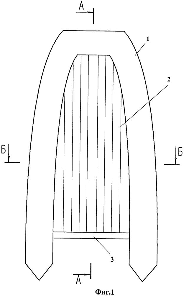Способ изготовления надувного днища для надувной моторной лодки