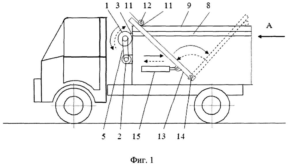Укрытие кузова транспортного средства