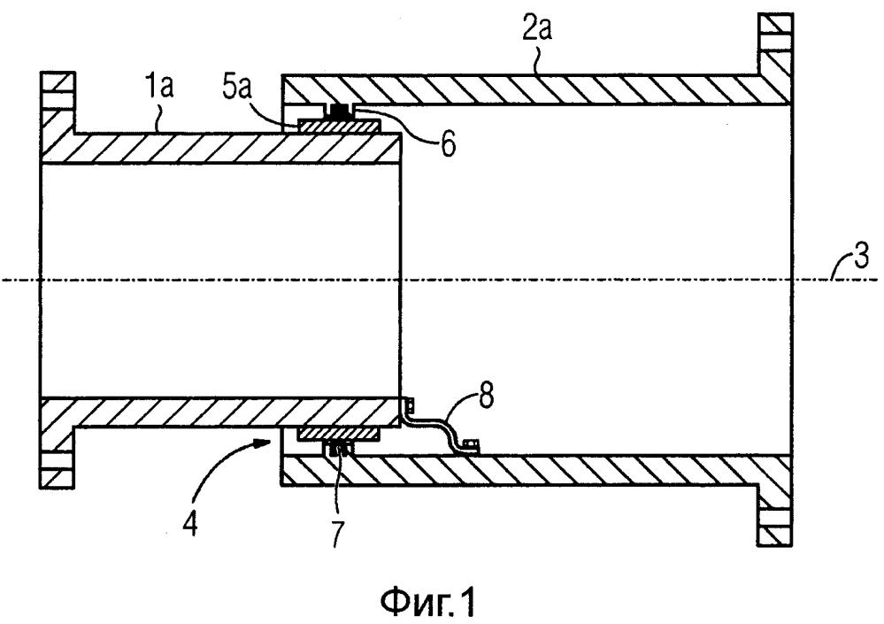 Система герметизирующих корпусов с изменяемой длиной для герметизированного устройства передачи электроэнергии