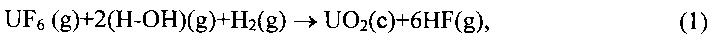 Способ переработки гексафторида урана на оксид урана и безводный фторид водорода и устройство для его осуществления