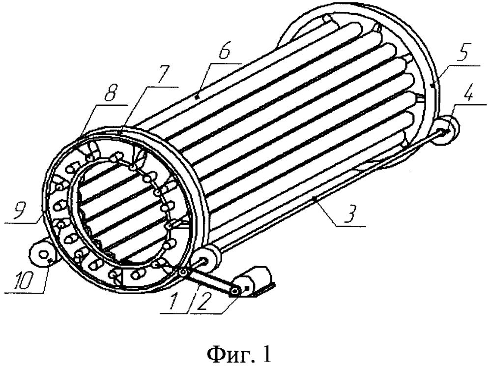 Способ сортировки овощей в машине барабанного типа с валиковым рабочим органом и механизмом для его реализации