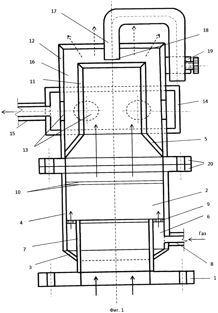Устройство для диспергирования жидкости с повышенной кинематической вязкостью