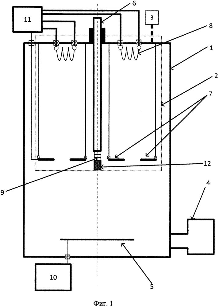 Устройство для нанесения диффузионных покрытий