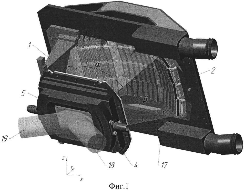 Мощная оптическая усилительная головка с торцевой диодной накачкой активного элемента в виде пластины
